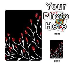 Elegant Tree 2 Multi Purpose Cards (rectangle)  by Valentinaart