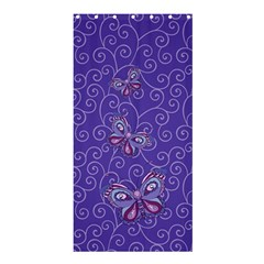 Butterfly Shower Curtain 36  x 72  (Stall)  by olgart