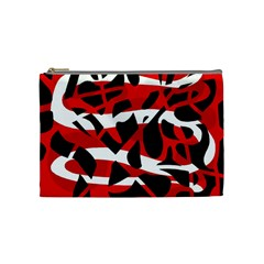 Red chaos Cosmetic Bag (Medium)