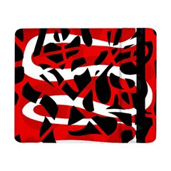 Red Chaos Samsung Galaxy Tab Pro 8 4  Flip Case by Valentinaart