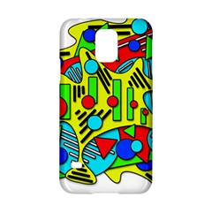 Colorful Chaos Samsung Galaxy S5 Hardshell Case  by Valentinaart