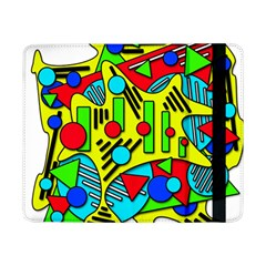 Colorful Chaos Samsung Galaxy Tab Pro 8 4  Flip Case by Valentinaart