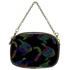 Decorative Fish Chain Purses (one Side)  by Valentinaart