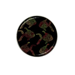 Decorative fish pattern Hat Clip Ball Marker (4 pack) by Valentinaart