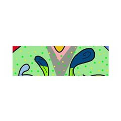 Colorful Landscape Satin Scarf (oblong) by Valentinaart