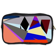 Geometrical Abstract Design Toiletries Bags by Valentinaart