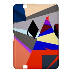 Geometrical abstract design Kindle Fire HD 8.9  by Valentinaart