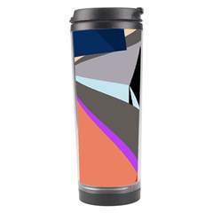 Geometrical Abstract Design Travel Tumbler by Valentinaart
