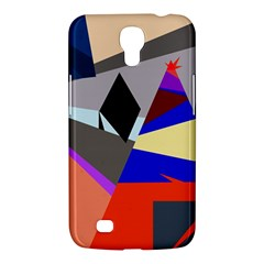 Geometrical Abstract Design Samsung Galaxy Mega 6 3  I9200 Hardshell Case by Valentinaart