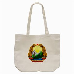 National Emblem Of Romania, 1965 1989  Tote Bag (cream) by abbeyz71
