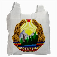 National Emblem Of Romania, 1965 1989  Recycle Bag (two Side)  by abbeyz71