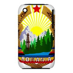 National Emblem Of Romania, 1965 1989  Apple Iphone 3g/3gs Hardshell Case (pc+silicone) by abbeyz71