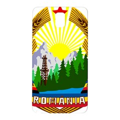 National Emblem Of Romania, 1965 1989  Samsung Galaxy Note 3 N9005 Hardshell Back Case by abbeyz71