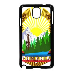 National Emblem Of Romania, 1965 1989  Samsung Galaxy Note 3 Neo Hardshell Case (black) by abbeyz71