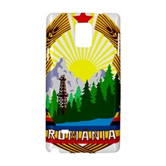 National Emblem Of Romania, 1965 1989  Samsung Galaxy Note 4 Hardshell Case by abbeyz71