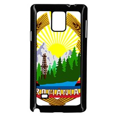 National Emblem Of Romania, 1965 1989  Samsung Galaxy Note 4 Case (black) by abbeyz71