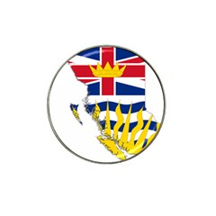 Flag Map Of British Columbia Hat Clip Ball Marker (10 Pack) by abbeyz71