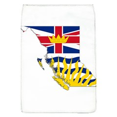 Flag Map Of British Columbia Flap Covers (l)  by abbeyz71