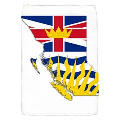 Flag Map Of British Columbia Flap Covers (s)  by abbeyz71