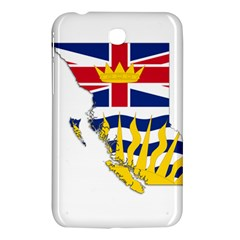Flag Map Of British Columbia Samsung Galaxy Tab 3 (7 ) P3200 Hardshell Case  by abbeyz71