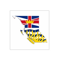 Flag Map Of British Columbia Satin Bandana Scarf by abbeyz71