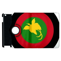 Roundel Of Papua New Guinea Air Operations Element Apple Ipad 2 Flip 360 Case by abbeyz71