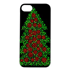 Sparkling Christmas Tree Apple Iphone 5s/ Se Hardshell Case by Valentinaart