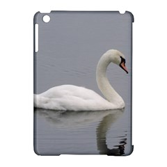 Swimming White Swan Apple Ipad Mini Hardshell Case (compatible With Smart Cover) by picsaspassion