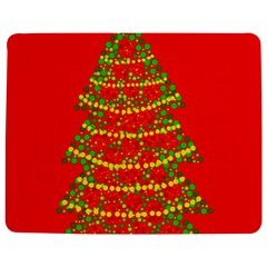 Sparkling Christmas Tree   Red Jigsaw Puzzle Photo Stand (rectangular) by Valentinaart