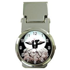 The World Comes Crashing Down Money Clip Watches