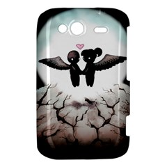 The World Comes Crashing Down HTC Wildfire S A510e Hardshell Case by lvbart