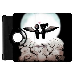 The World Comes Crashing Down Kindle Fire Hd Flip 360 Case by lvbart