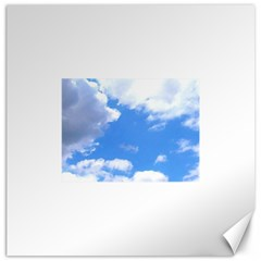 Summer Clouds And Blue Sky Canvas 20  X 20   by picsaspassion