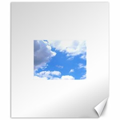 Summer Clouds And Blue Sky Canvas 20  X 24   by picsaspassion