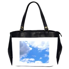 Summer Clouds And Blue Sky Office Handbags (2 Sides)  by picsaspassion