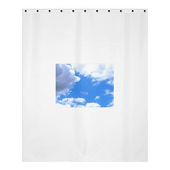 Summer Clouds And Blue Sky Shower Curtain 60  X 72  (medium)  by picsaspassion