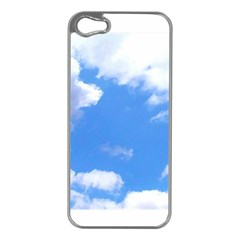Summer Clouds And Blue Sky Apple Iphone 5 Case (silver)