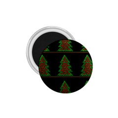 Christmas Trees Pattern 1 75  Magnets by Valentinaart