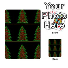 Christmas Trees Pattern Multi Purpose Cards (rectangle)  by Valentinaart
