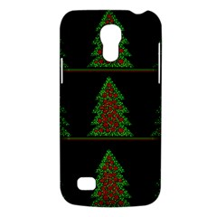 Christmas Trees Pattern Galaxy S4 Mini by Valentinaart