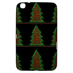 Christmas Trees Pattern Samsung Galaxy Tab 3 (8 ) T3100 Hardshell Case  by Valentinaart