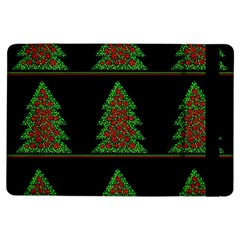 Christmas trees pattern iPad Air Flip by Valentinaart