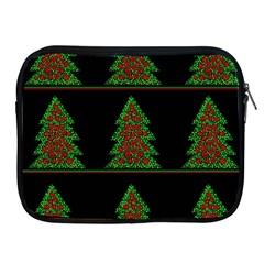 Christmas Trees Pattern Apple Ipad 2/3/4 Zipper Cases by Valentinaart
