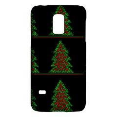 Christmas Trees Pattern Galaxy S5 Mini by Valentinaart