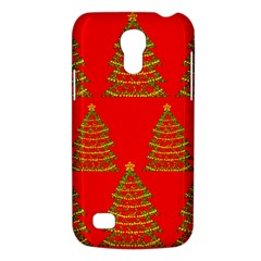 Christmas Trees Red Pattern Galaxy S4 Mini by Valentinaart