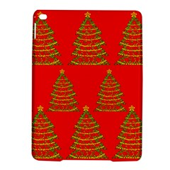 Christmas Trees Red Pattern Ipad Air 2 Hardshell Cases by Valentinaart