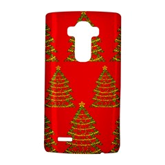 Christmas trees red pattern LG G4 Hardshell Case
