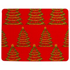 Christmas Trees Red Pattern Jigsaw Puzzle Photo Stand (rectangular)