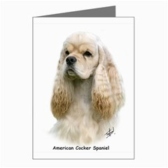 American Cocker Spaniel Greeting Cards (Pkg of 8) by DogThingies