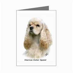 American Cocker Spaniel Mini Greeting Card by DogThingies